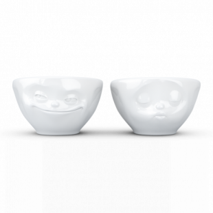 """COPPIA DUE BOWL 100ML """"KISSING E GRINNING"""""""