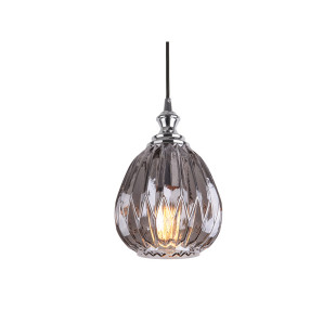 LAMPADA SOSPENSIONE POSH ROUND GREY