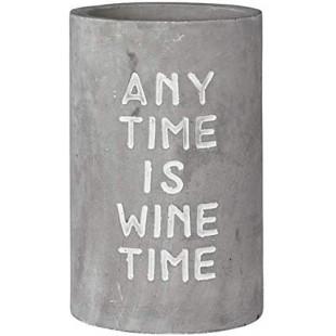 """SECCHIELLO REFRIGERANTE PER VINO """"ANY TIME IS WINE"""""""