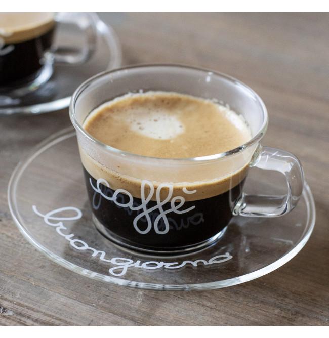 SET DUE TAZZINE CAFFE' BUONGIORNO