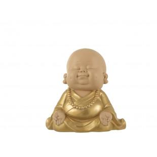 BUDDHA ZEN CHE MEDITA ABITO ORO