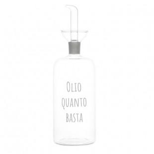 """BOTTIGLIA """"OLIO QUANTO BASTA"""" 570ML"""